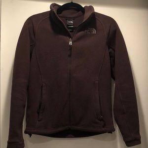 The North Face Brown Women's Zip Up Fleece